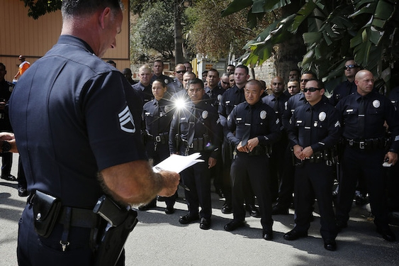 LAPD officer accused of falsifying gang records faced earlier credibility questions but stayed on el