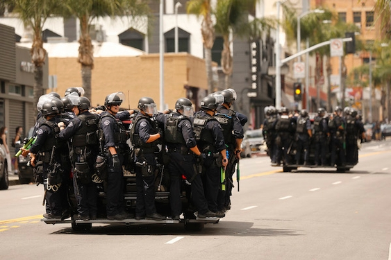LAPD promised to curb violence on protesters for 2 decades, but has yet to deliver