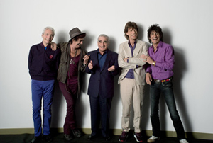 THE ROLLING STONES ON FILM