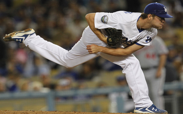 Clayton Kershaw Named NL Player of the Week