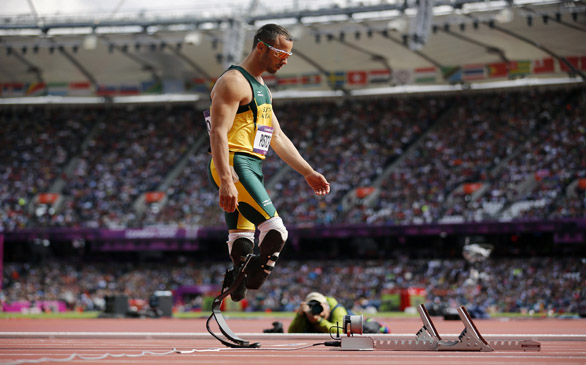 Olympic Sprinter Oscar Pistorius Charged with Murder