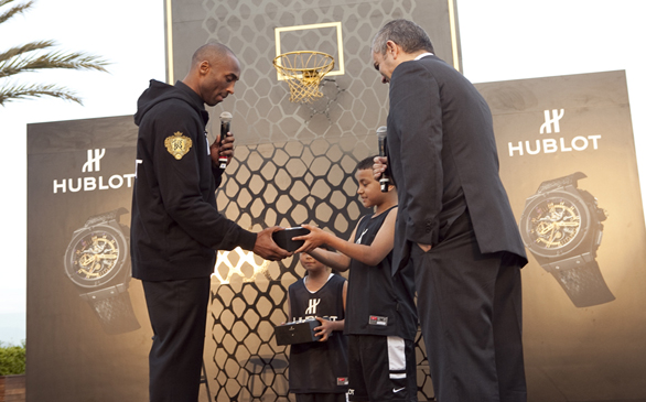 Lakers' Kobe Bryant New Brand Ambassador for Hublot