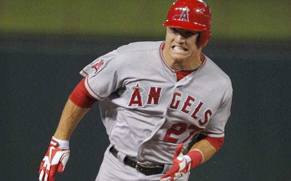 Mike Trout Wins <i>Baseball America</i> Player, Rookie of the Year Awards