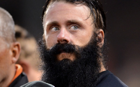 Will LA Dodger Brian Wilson Shave His Famous Beard for $1 Million?