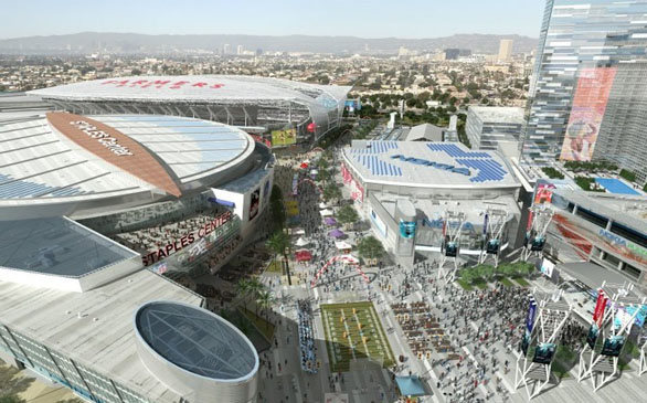 Agreement Signed to Build NFL Stadium in L.A.