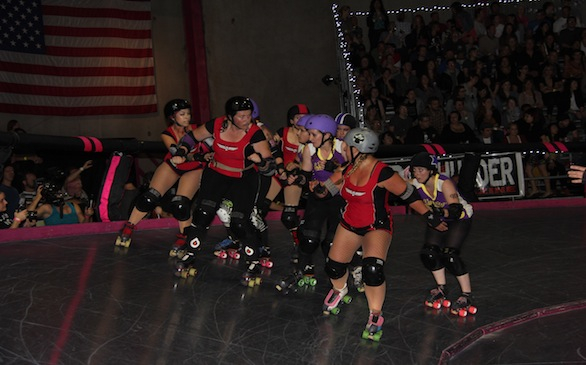 L.A. Derby Dolls 2012 Championship Game