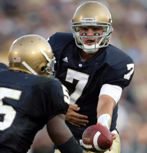 Jimmy Clausen Declares for the NFL Draft