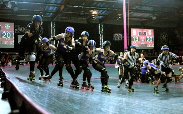 Sirens Top Brawlers for 2012 Roller Derby Championship