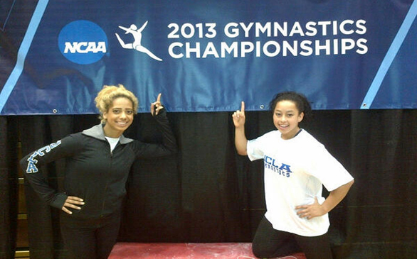 UCLA's Francis Takes Star Turn at Gymnastics Championships