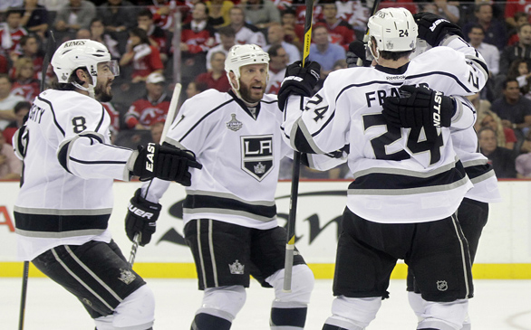 Kings Win Game 1 of Stanley Cup Finals