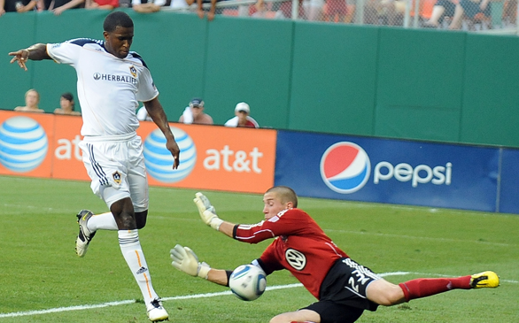 Buddle Scores, but Galaxy Suffer Loss in Opener