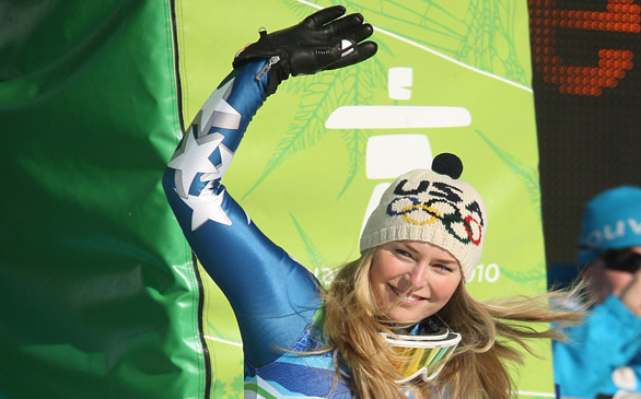 Video: Lindsey Vonn Suffers Injury While Skiing