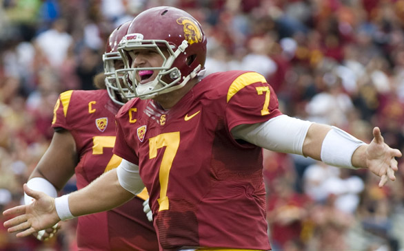 USC's Matt Barkley Wants to be No. 1