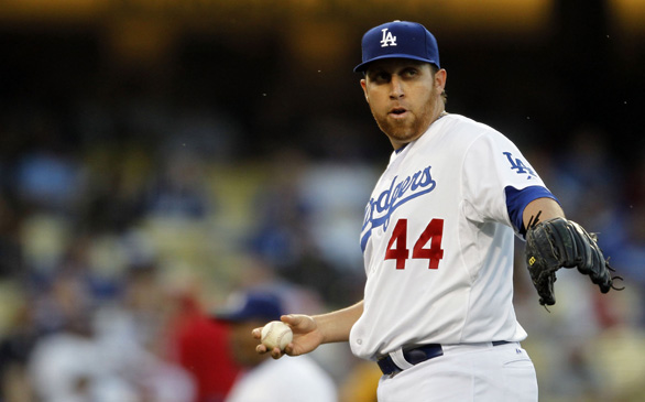 Aaron Harang's Outing Raises Pitching Questions for Dodgers
