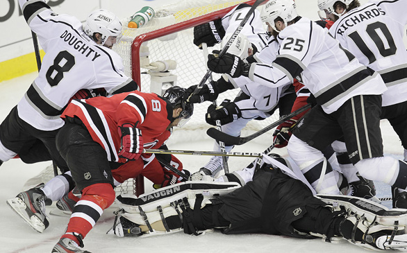 Kings Battle Devils in Game 3 of Stanley Cup Finals