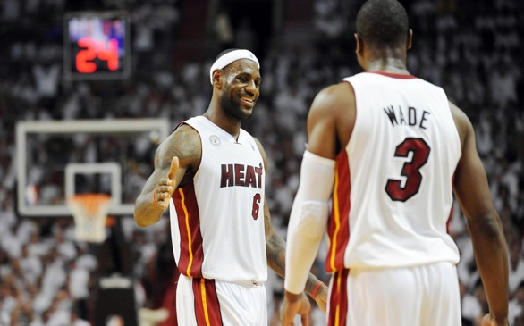 The Heat Win Eastern Conference, Head to Finals