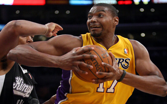 Lakers to Pick Up Option on Andrew Bynum