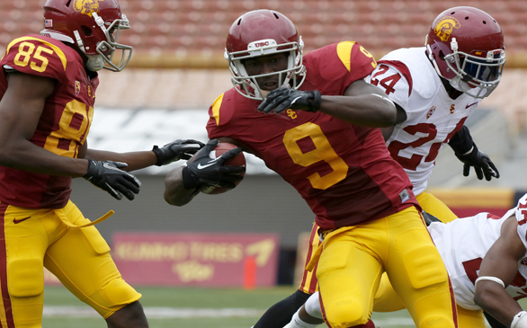 Spring Ball Ends with Non-Tackling Event for USC