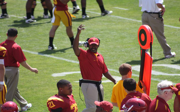 USC Football Coach Leaves for Raiders Job