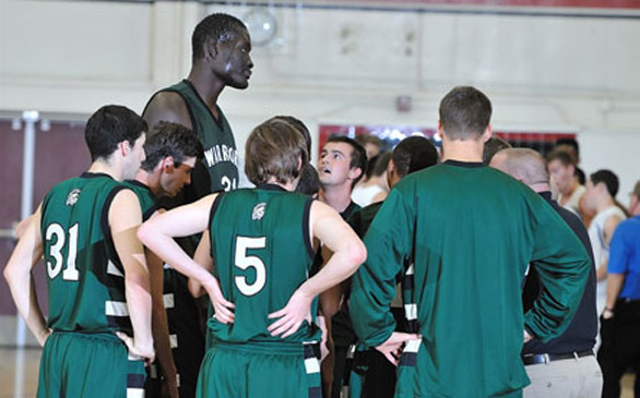 At 7-foot-5, Mamadou Ndiaye is Dominating High School Ball