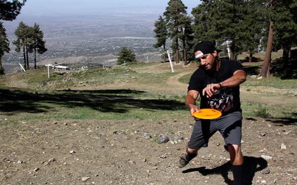Play Disc Golf at Mountain High