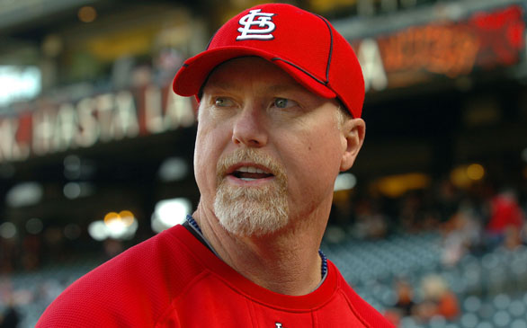 Dodgers Name Mark McGwire New Hitting Coach