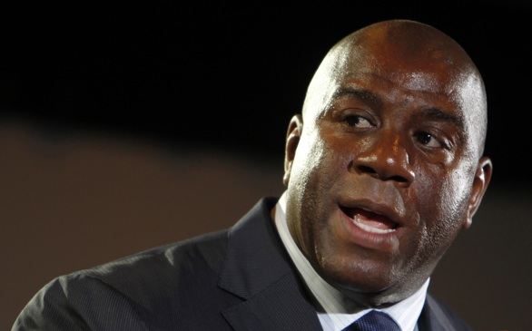 Magic Johnson and Other Dodgers Owners Purchase the Sparks