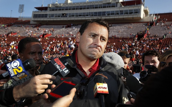 USC Coach Steve Sarkisian Better Win Early this Season...Or Else