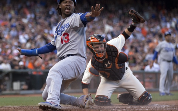 Dodgers Complete Sweep of Giants