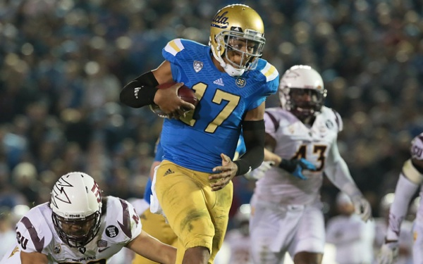 Brett Hundley Becomes UCLA's Leading Man, in Every Way