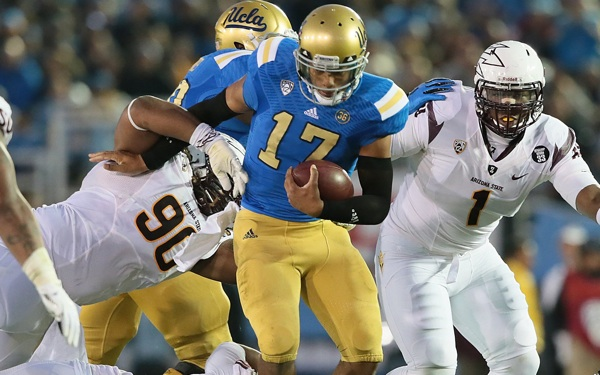 UCLA Wants Hundley to Run Only if Needed