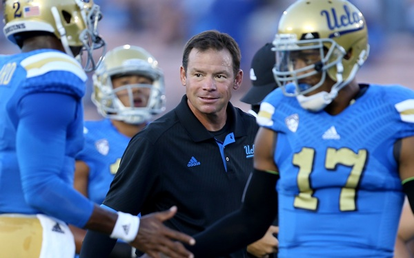 One Sack a Game? UCLA's Mora Wants More