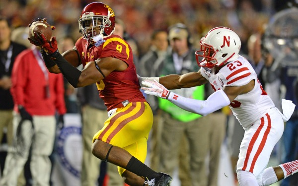Trojans Hang on for a Wild Win over Huskers in Holiday Bowl