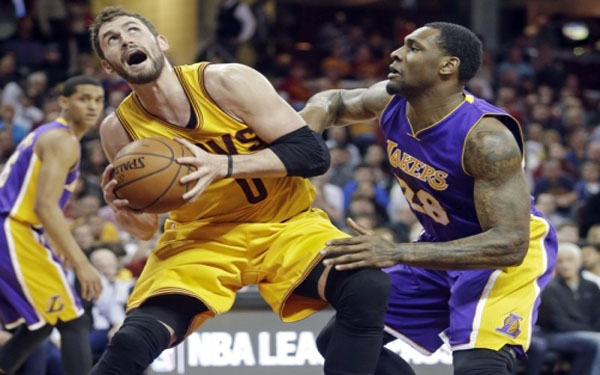 Kevin Love says (again) he has no interest in leaving Cavs for Lakers this summer