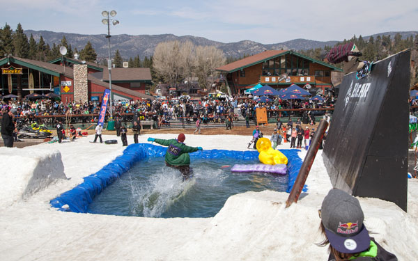 Surf, snow and inflatable palm trees – Bear Mtn.'s annual Neff Beach Bash