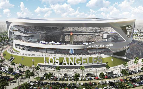 Chargers and Raiders overhaul design for potential L.A. stadium