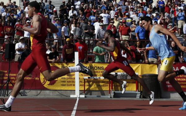 USC's track-and-field teams beat UCLA at dual meet