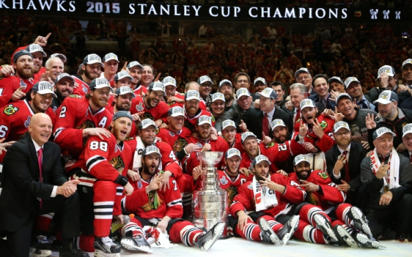 Blackhawks seize their third Stanley Cup in six seasons