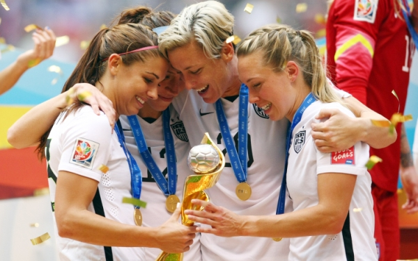 U. S. soccer breaks the ceiling with Women's World Cup win