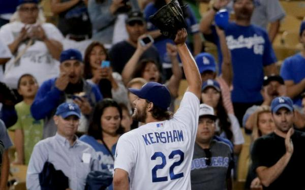 Dodgers' Clayton Kershaw excited to be All-Star replacement