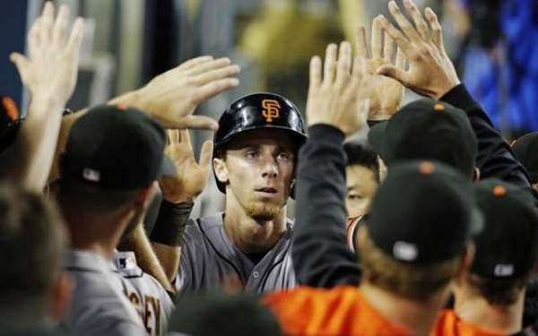 San Francisco Giants rookie and Long Beach State alum Matt Duffy is turning heads