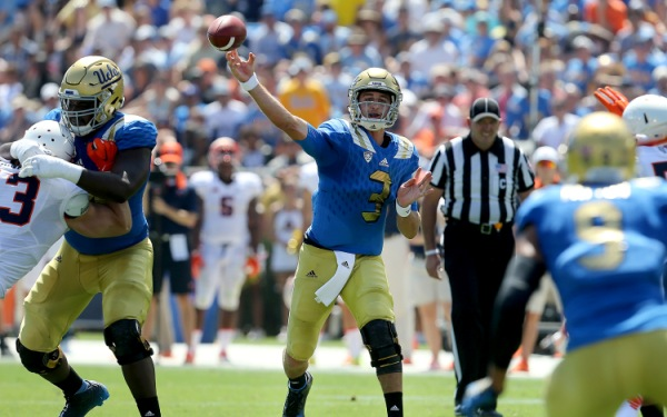 Josh Rosen's debut as UCLA quarterback illuminates why he is the chosen one