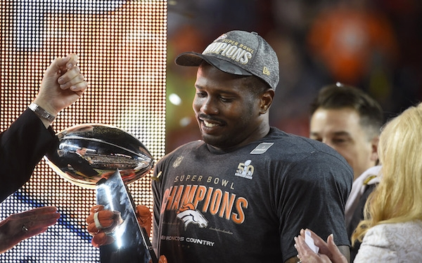 MVP Von Miller leads Broncos past Panthers at Super Bowl 50