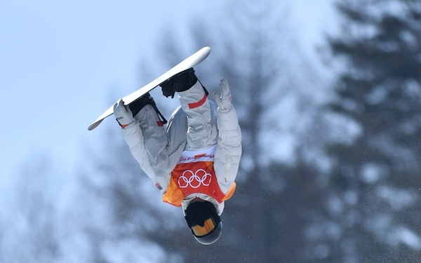 Shaun White looking like the top dog, not an underdog