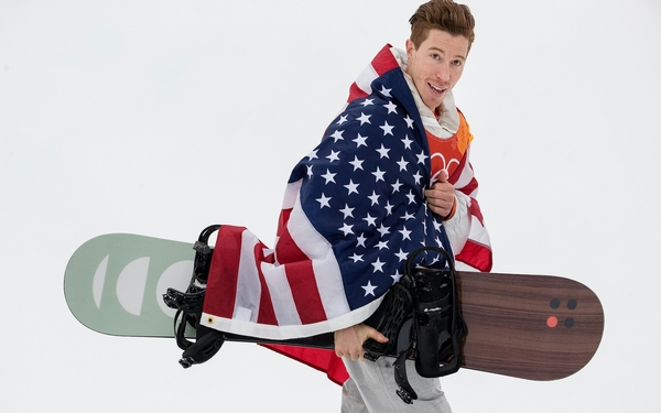 Shaun White wins third Olympic gold in halfpipe with clutch performance on final run
