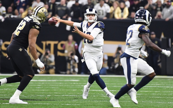 Rams' Goff aiming for the stars