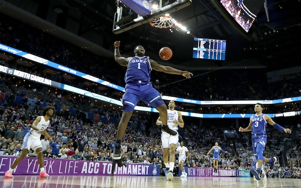 Duke claims first No. 1 seed since 2015. The last time it happened, the Blue Devils won it all.