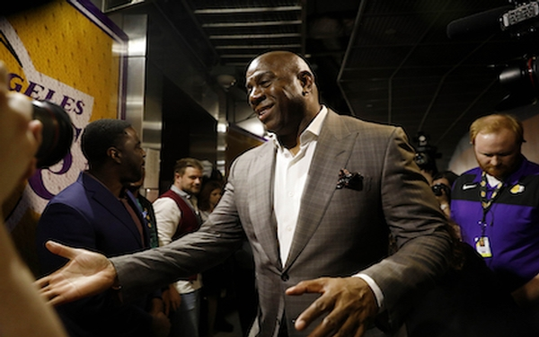 Magic Johnson: Felt betrayed by Rob Pelinka; not enough power with Lakers