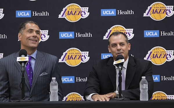 Who's making the decisions for the Lakers? It's complicated