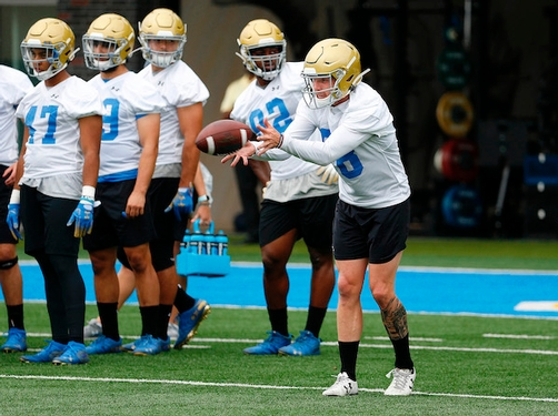 Wade Lees will be a 31-year-old punter for UCLA this season
